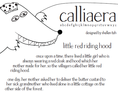 Calliaera: Revival font of Palatino