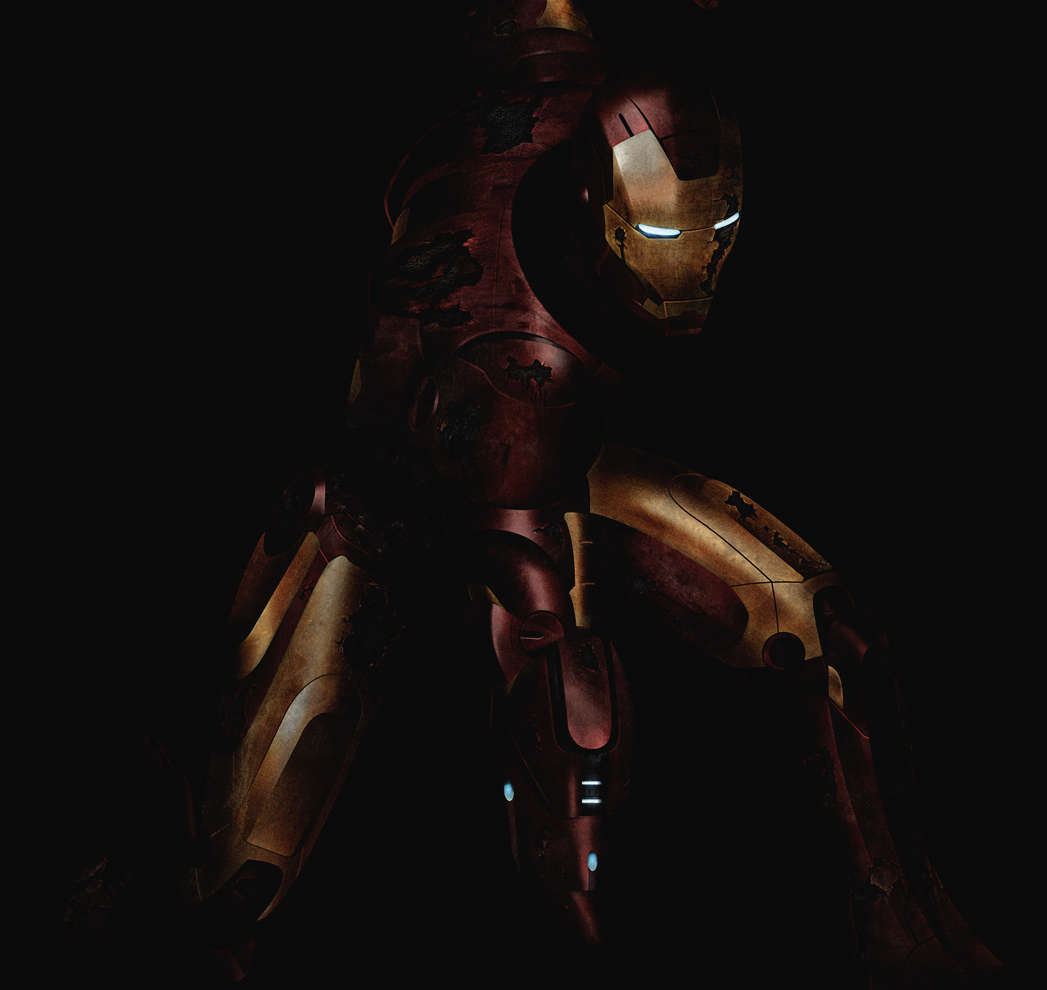 Iron Man Based on Adi Granovs Iron Man Illustration