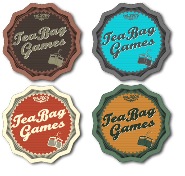 TeaBag Games Logos / Website