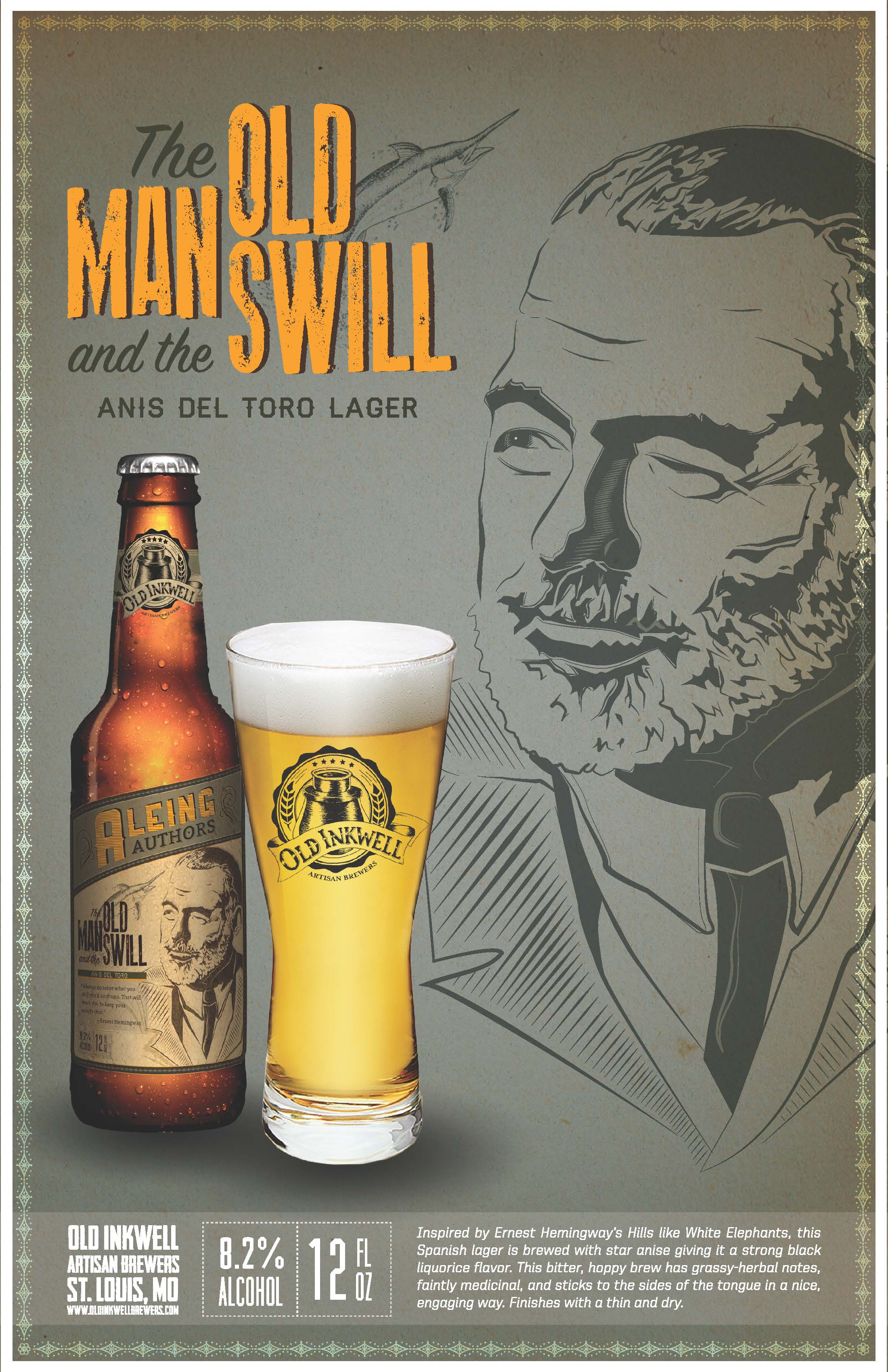 Aleing Authors Beer Posters