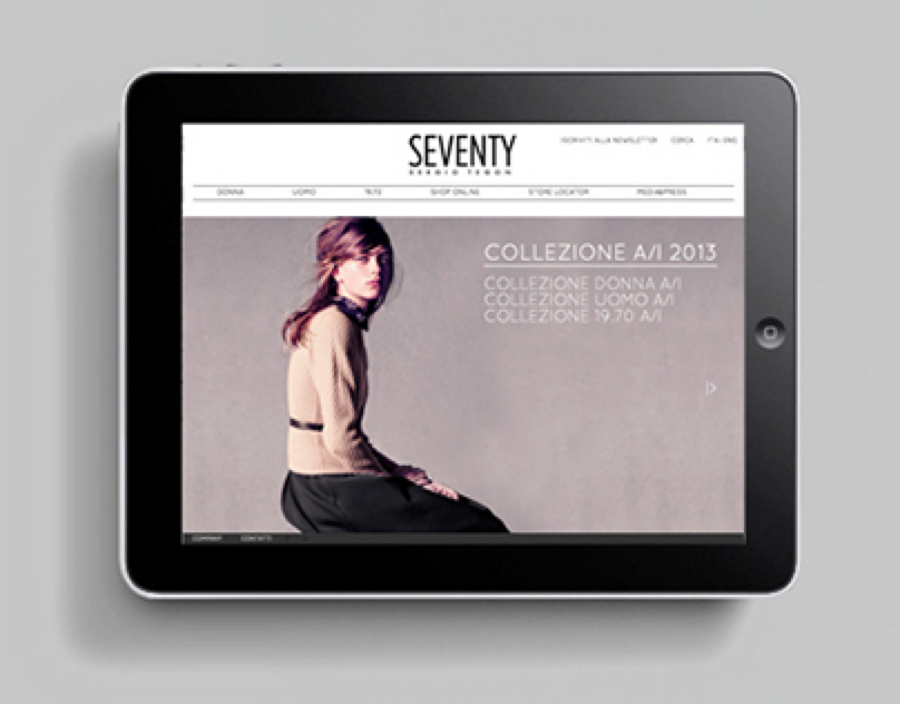 Seventy - Web Site