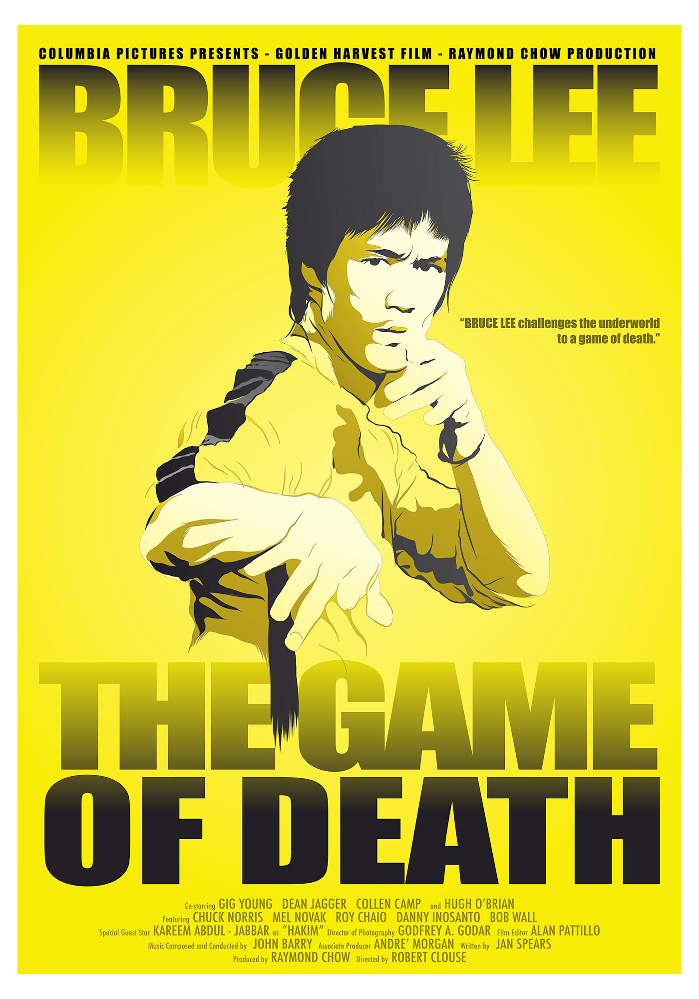 Game of Death - Alternative Poster