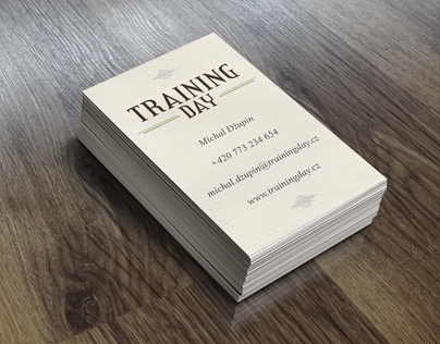 trainingday.cz corporate identity