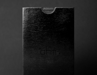 OHM invitation | Fashion Branding