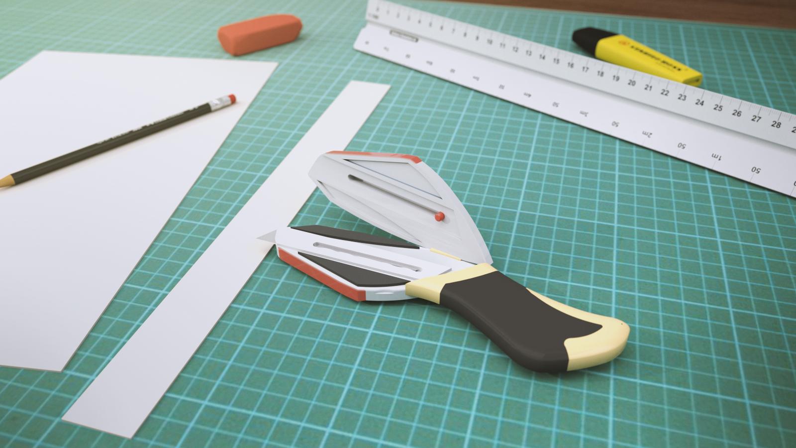 Child and Elder Friendly Cutter Concept Design