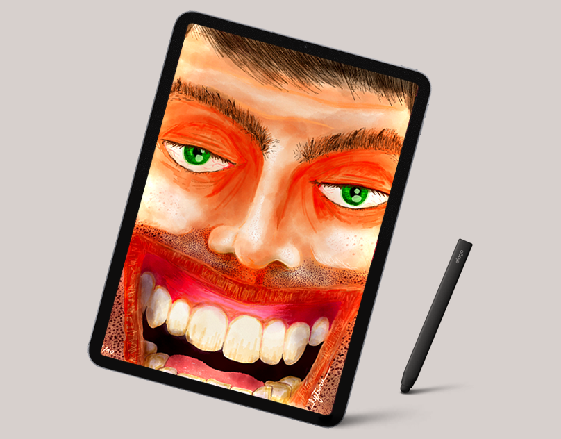 Ipad Illustrations : Faces