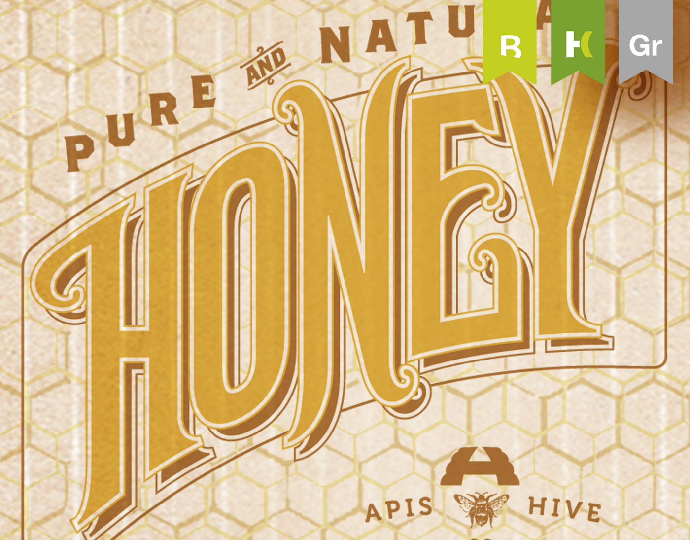 BRANDING :: Apis Hive Honey