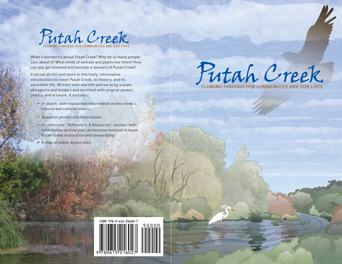Book Design -- Putah Creek Guidebook
