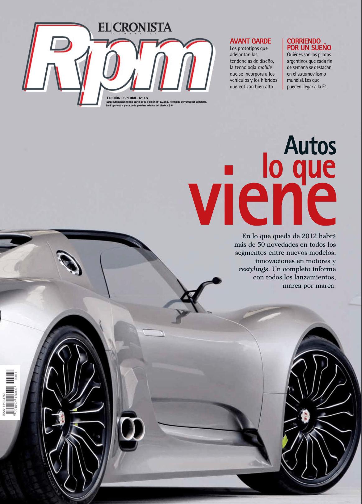 RPM: Autos, lo que viene