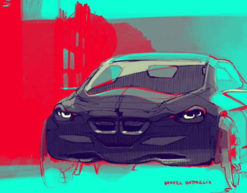 BMW sketches