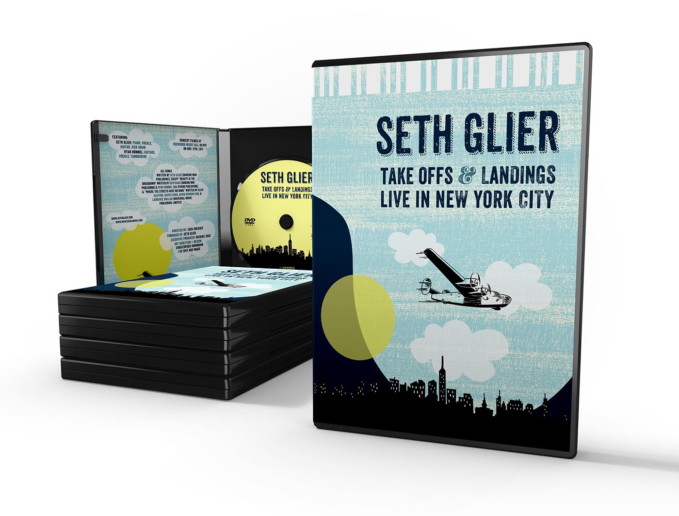 "Seth Glier ""Take Off & Landings"" DVD"