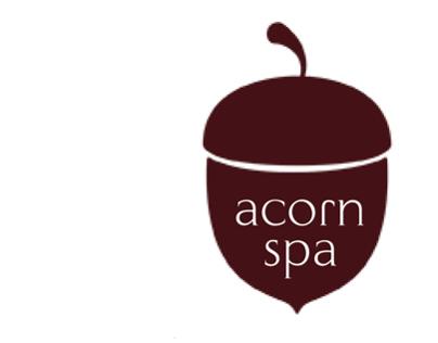 Acorn spa icons/Пиктограми за спа център