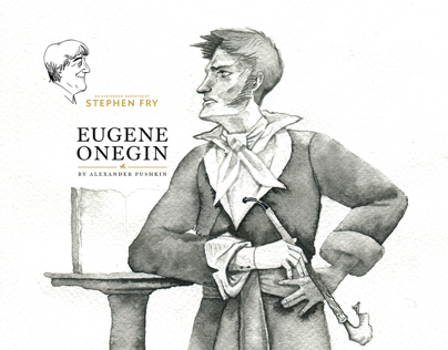 Stephen Fry reads Eugene Onegin website