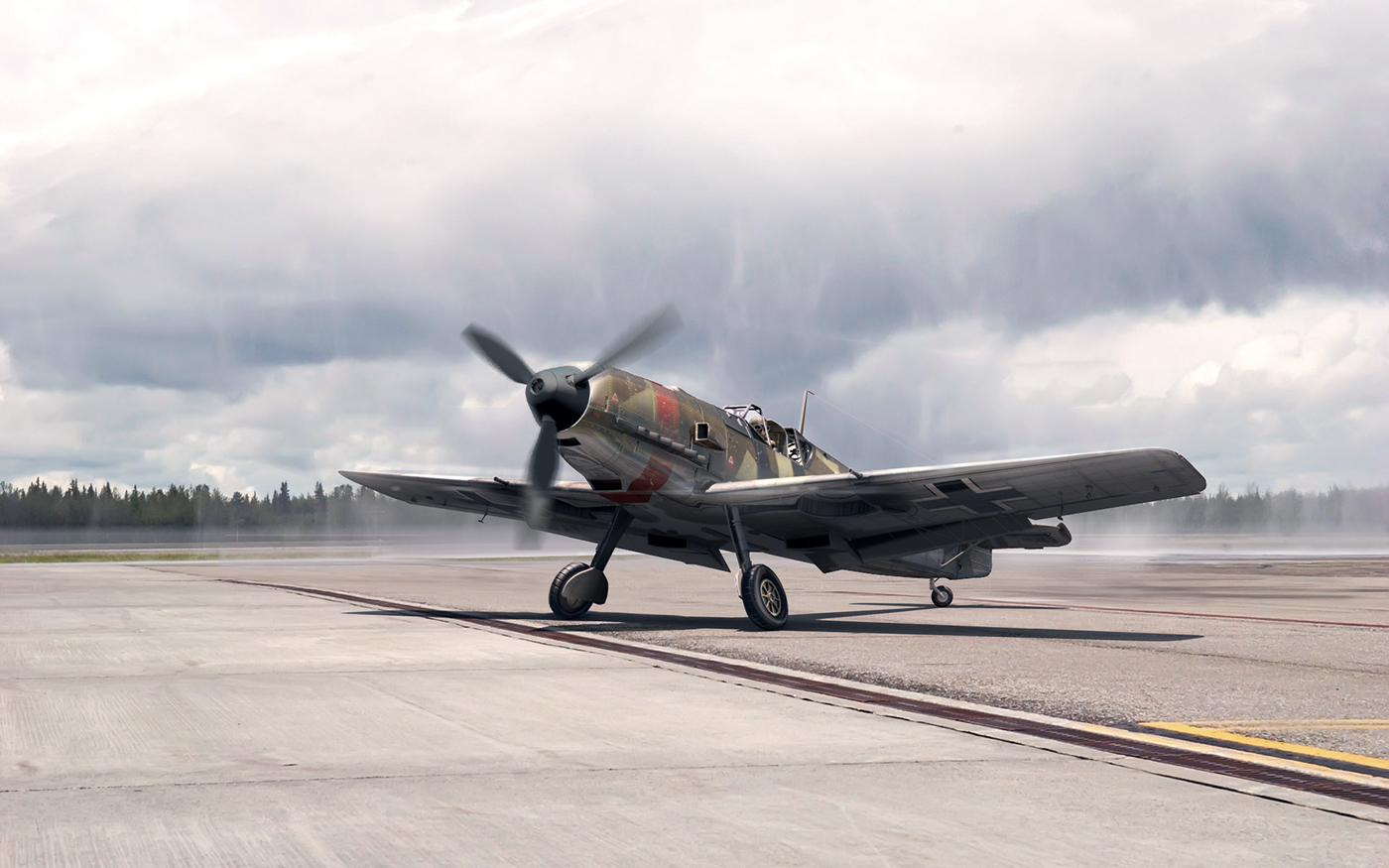 BF- 109 visualization