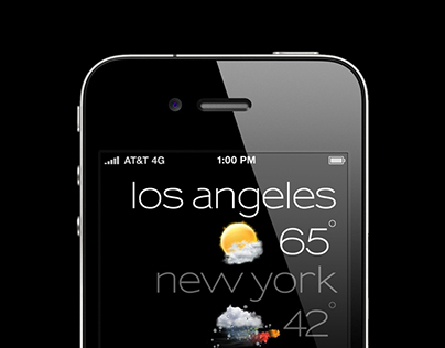 iPhone 4 :: Interface Re-design