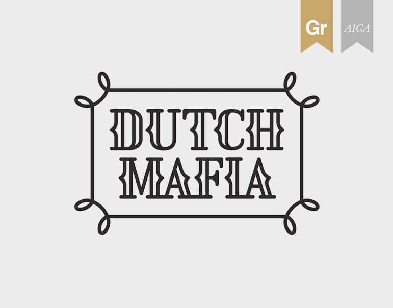 Dutch Mafia: Font & Icon Set