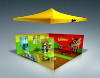 Stands y Exhibidores 3D