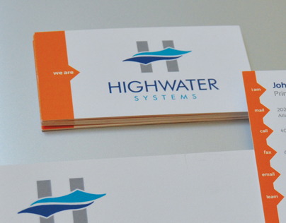 Highwater Systems Brand Identity & Collateral