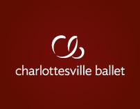 Charlottesville Ballet Branding & Photography