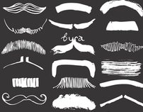 Calligraphy Art book Moustache