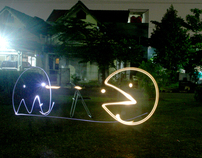 light grafitti