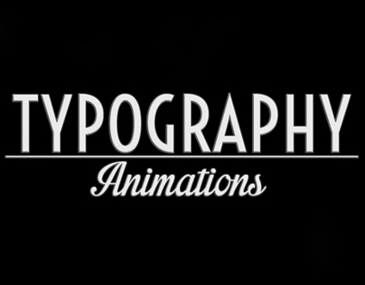 Typography Animations