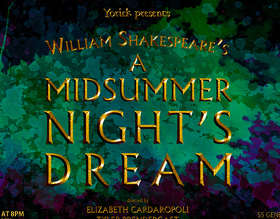 Yorick: William Shakespeare's A MIDSUMMER NIGHT'S DREAM