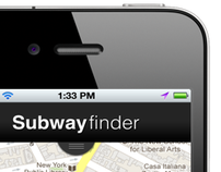 Subwayfinder iPhone App