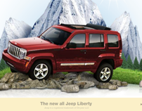 Jeep Liberty Vehicle Launch: Online Advertising