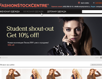 FashionStockCentre — online shop. Logo&Web.