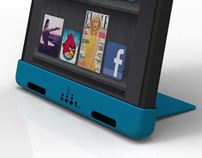 SOOT | An Acoustic Kickstand for the Kindle Fire