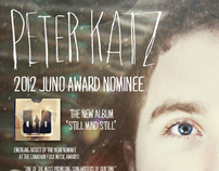 Peter Katz Album and Promotional Material