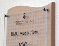 BMU Student Union Environmental Signage