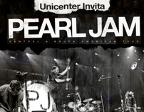 Pearl Jam Unicenter Invita