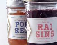 Grape Jelly & Pear Jam