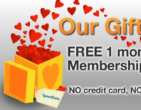 SpeedDate Free Month Promotion