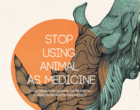 "School Project  "" Stop using animal as medicine """
