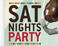 SAT NIGHTS PARTY Posters