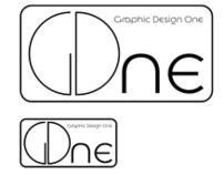 Graphic Design One Course Logo