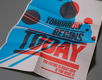Tomorrow Begins Today poster