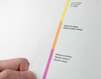 Self Promotion Process Book