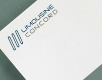 Business Card for limo company