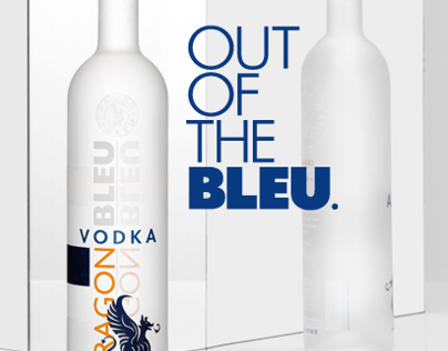 Dragon Bleu Vodka