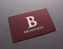 Broadoaks: Stationery Set