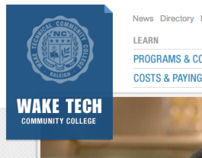 Wake Tech Community College Website