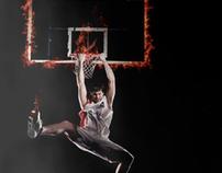 Basket Kwidzyn - Fire illustrations