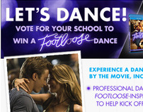 Footloose LETS DANCE Facebook Tab