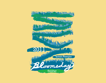 Bloomsday 2011 Winning Shirt Design