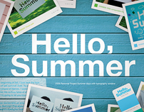 Hello,Summer_ Poster Series