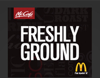 MCDONALD'S - McCafé - Web Design